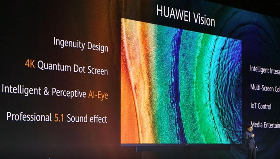 Huawei launches 4K Vision TV