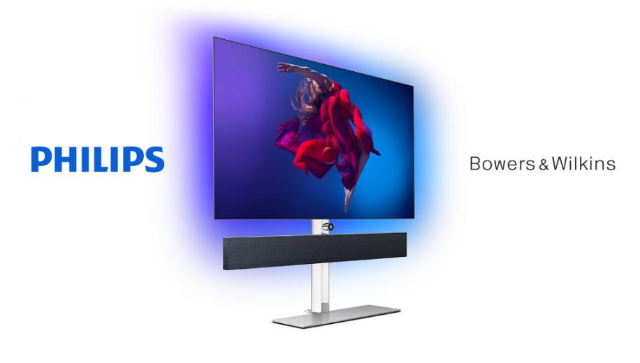 Philips TV and Bowers & Wilkins extend partnership