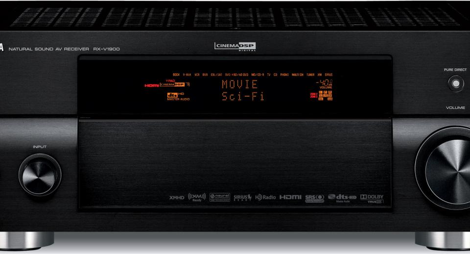 Yamaha RX-V1900 Receiver Review | AVForums