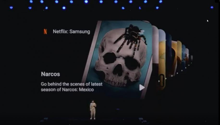 Samsung and Netflix agree exclusive content deal