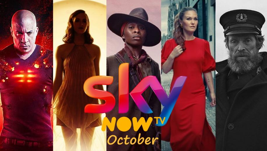 What's new on Sky and NOW TV UK for October 2020
