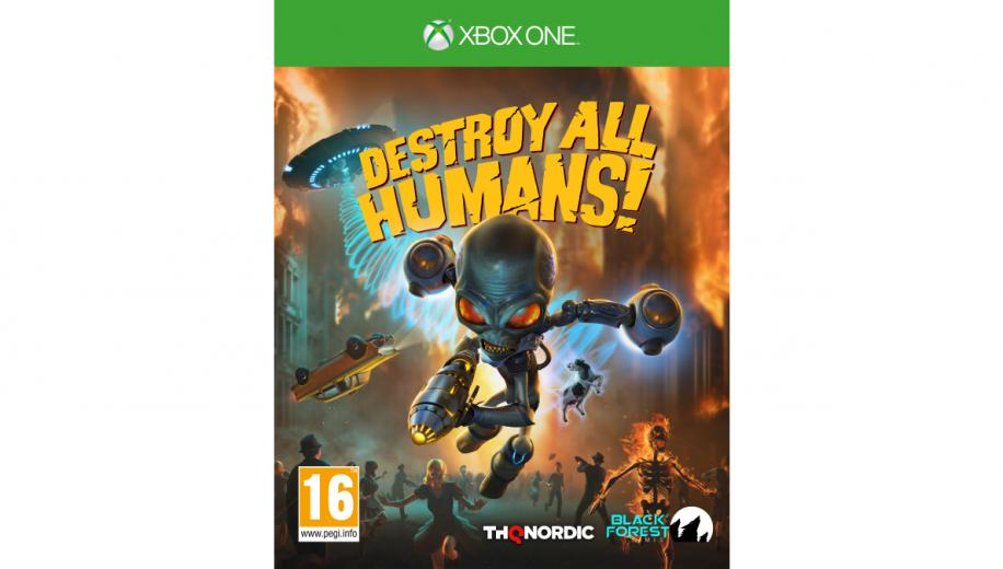 Destroy All Humans Review (Xbox One)