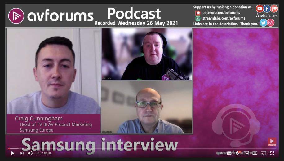 Samsung Micro LED, Mini LED and More: AVForums Podcast Interview