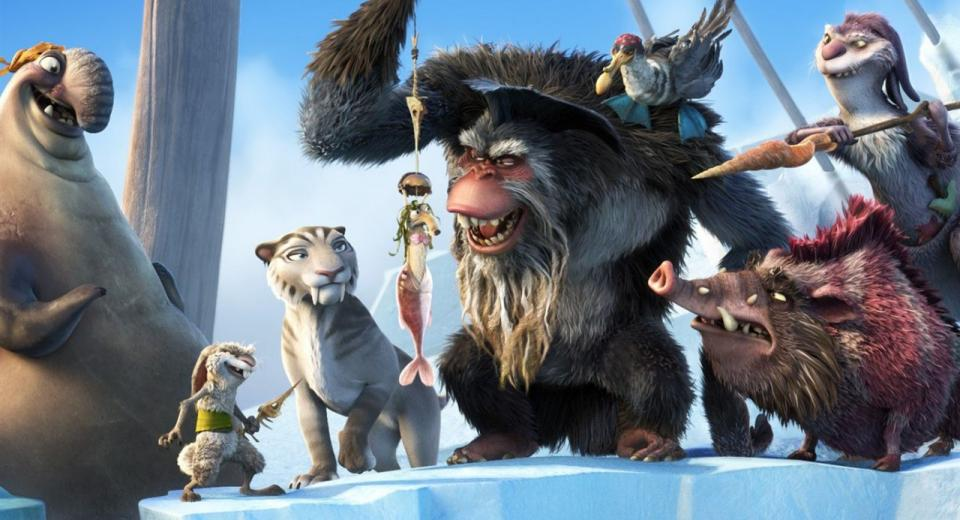 Ice Age: Continental Drift 3D Movie Review