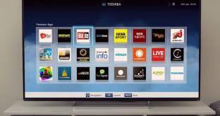 Toshiba Smart TV System 2014 Review