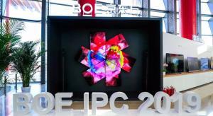 8K OLED TV screen created by inkjet printing demoed by BOE