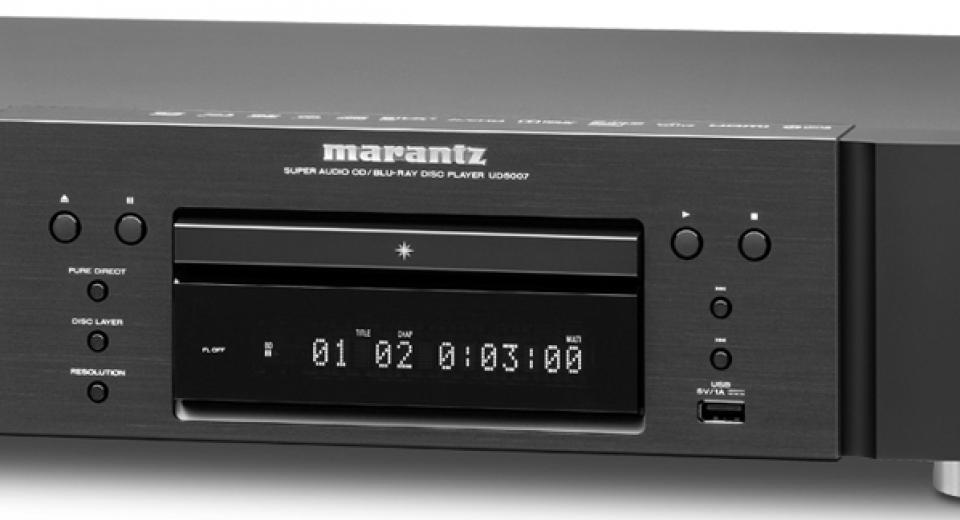 Marantz UD5007 Universal 3D Blu-ray Player Review