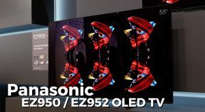 VIDEO: Panasonic EZ1002 and EZ952 OLED TV Interview
