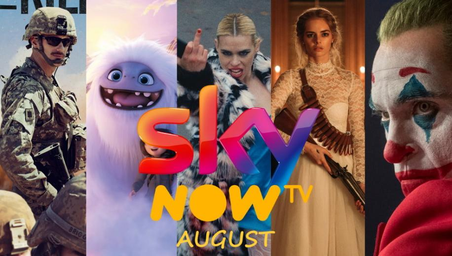 What's new on Sky and NOW TV UK for August 2020