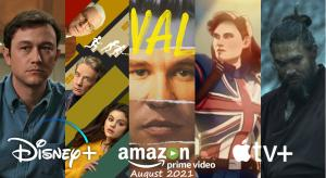 What's new on UK streaming services for August 2021