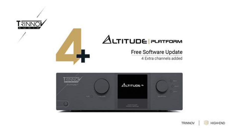 Trinnov Altitude update adds new features