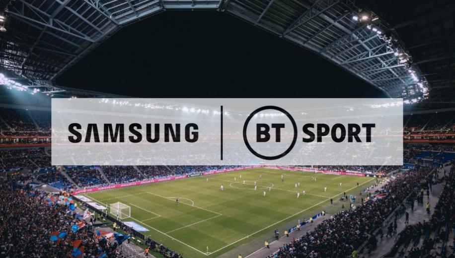 Samsung and BT deliver UK's first live 8K sports broadcast