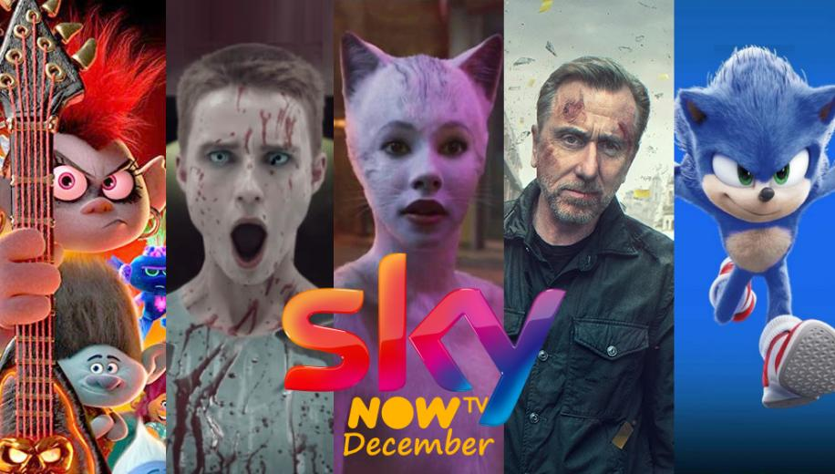 What's new on Sky and NOW TV UK for December 2020