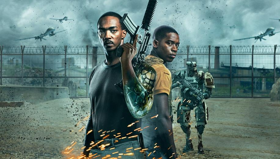 Outside the Wire (Netflix) Movie Review