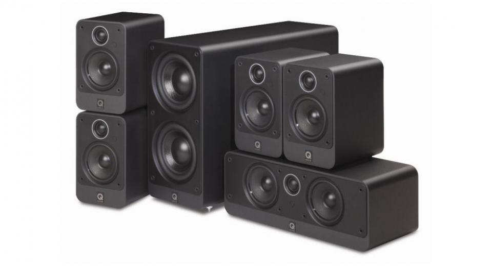 Q Acoustics 2000I 5.1 speaker package.