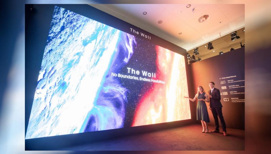 Samsung Micro LED The Wall reaches 583-inches