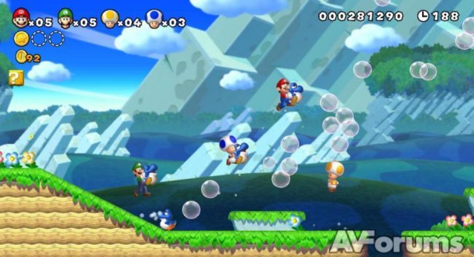 New Super Mario Bros U Wii U Review