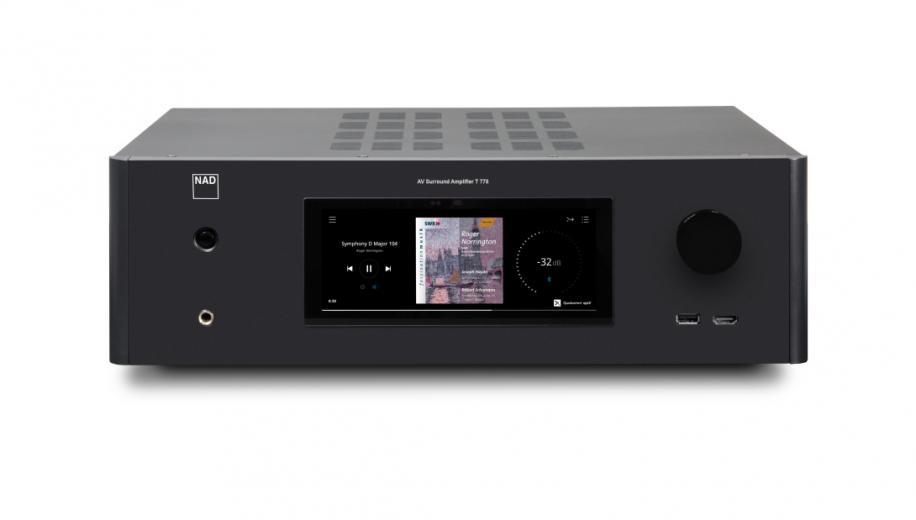 NAD Debuts T 778 Reference AV receiver