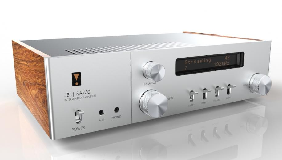 JBL launches SA750 integrated amplifier to celebrate 75th year