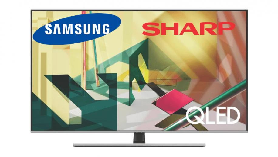 Samsung LCD TV panels sourced from Sharp