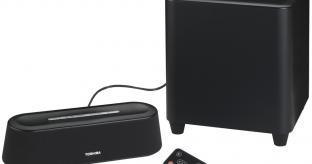 Toshiba Mini 3D Soundbar and Subwoofer Review