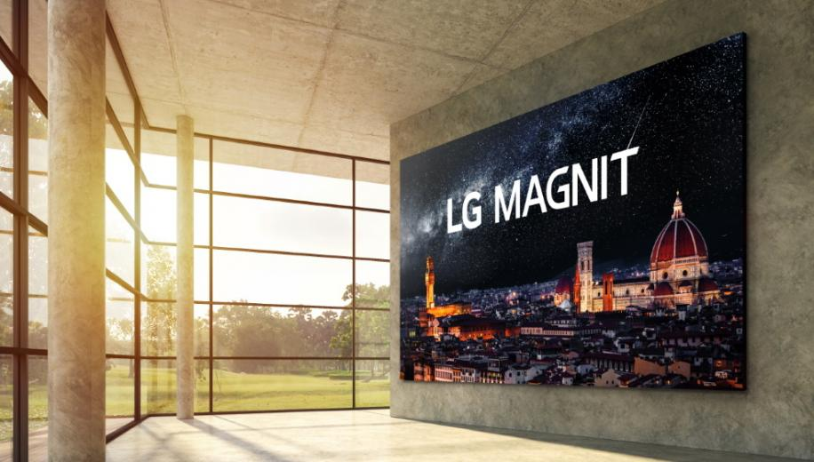 LG launches Magnit Micro LED display