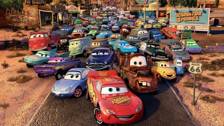 Cars DVD Review