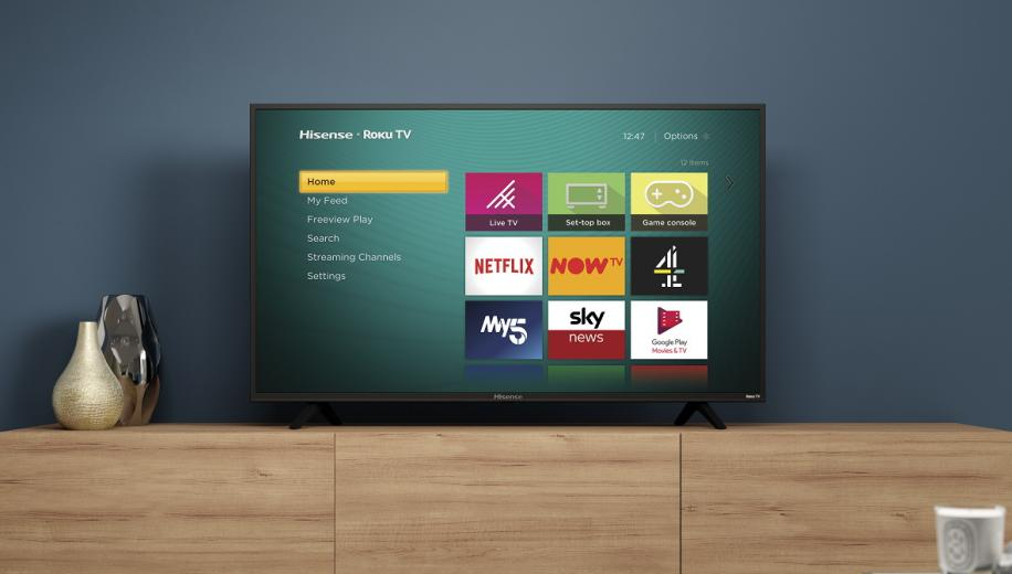 Hisense announces UK's first Roku TV