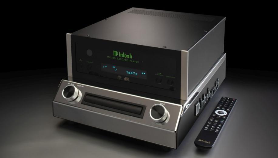 McIntosh launches MCD85 SACD/CD player