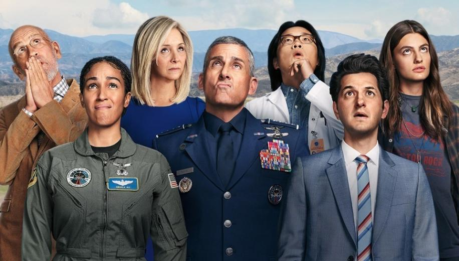 Netflix's Space Force Season 1 TV Show Review | AVForums