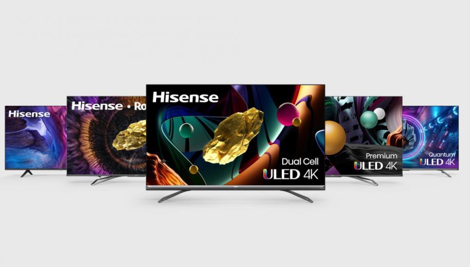 Hisense announces US TV and soundbar ranges for 2021