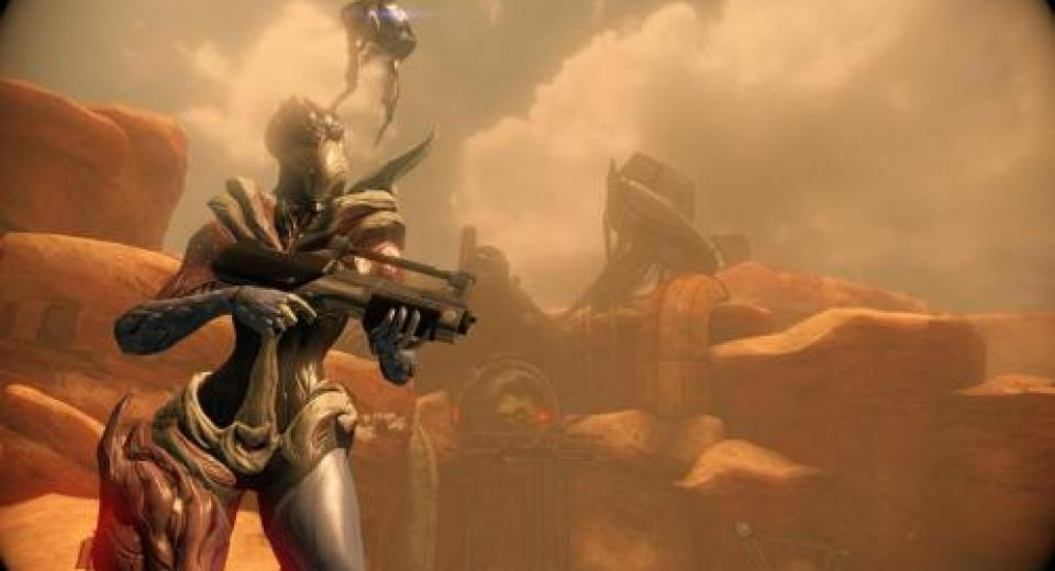 Gamescom 2013: Warframe - Playstation 4 Hands-On