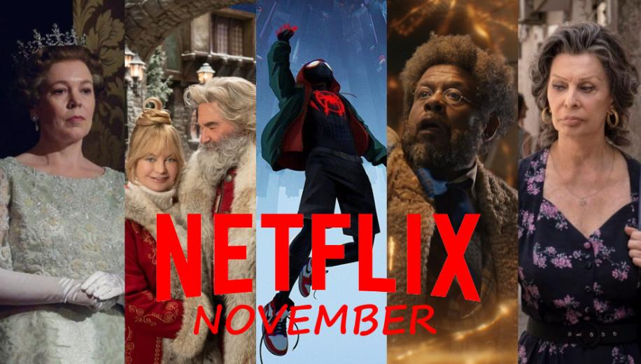 What's new on Netflix UK for November 2020