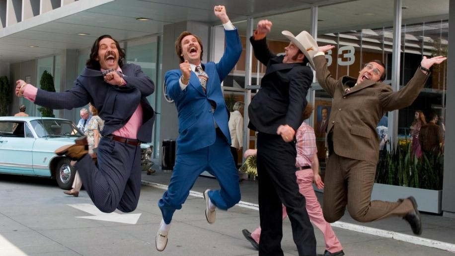 Anchorman: The Legend Of Ron Burgundy (Unrated) DVD Review