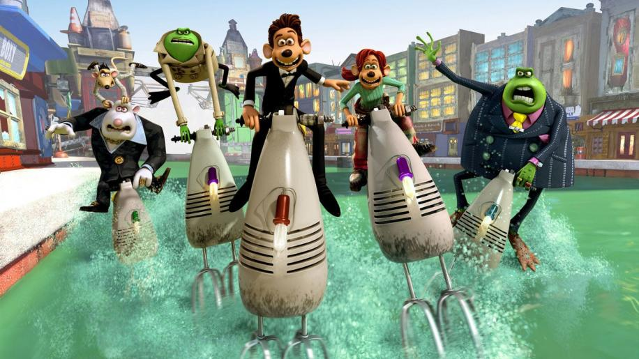 Flushed Away DVD Review