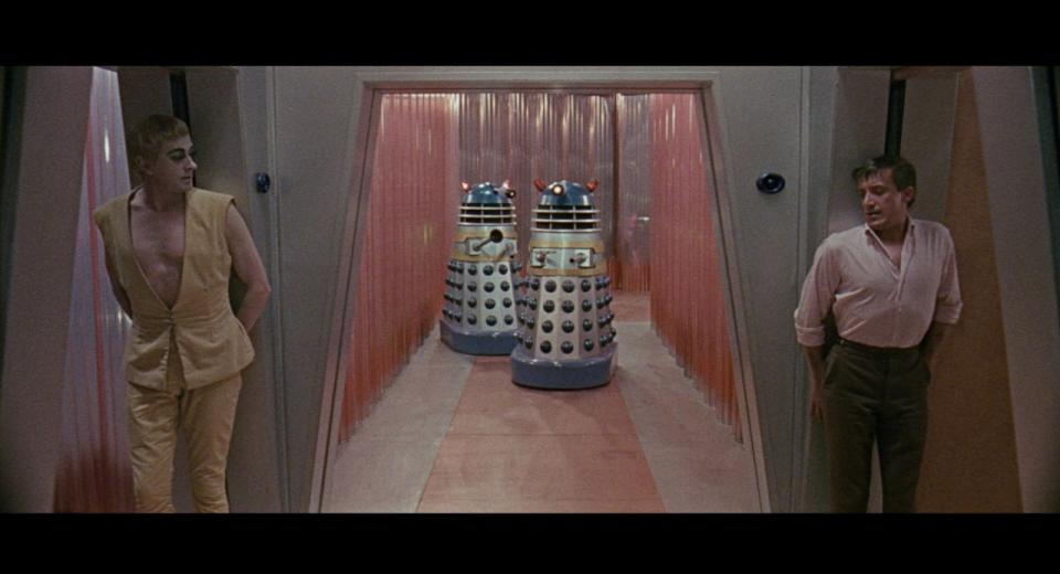 Dr. Who and the Daleks Blu-ray Review