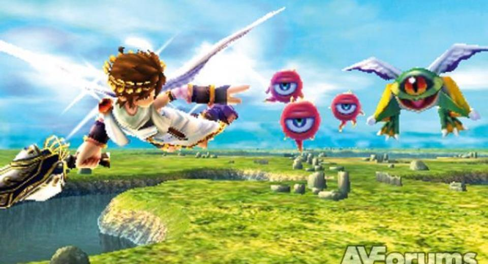 Kid Icarus: Uprising 3DS Review