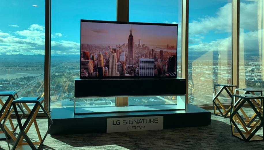 CES 2019 News: LG launches rollable OLED TV R