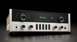 McIntosh launches C22 Mk V preamp and MC1502 power amplifier