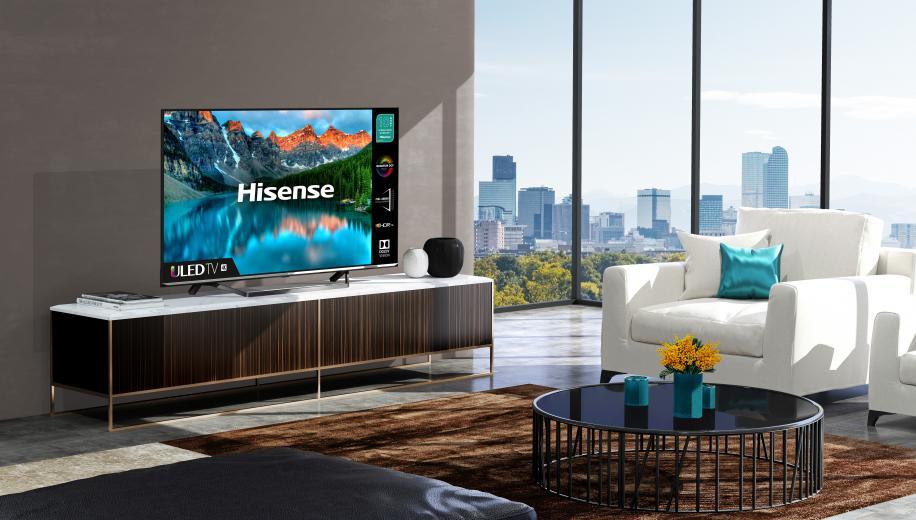 Hisense U8QF TV heads UK 2020 range
