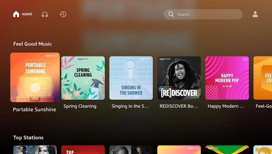 Amazon Music fully available on Android TV and Google TV platforms