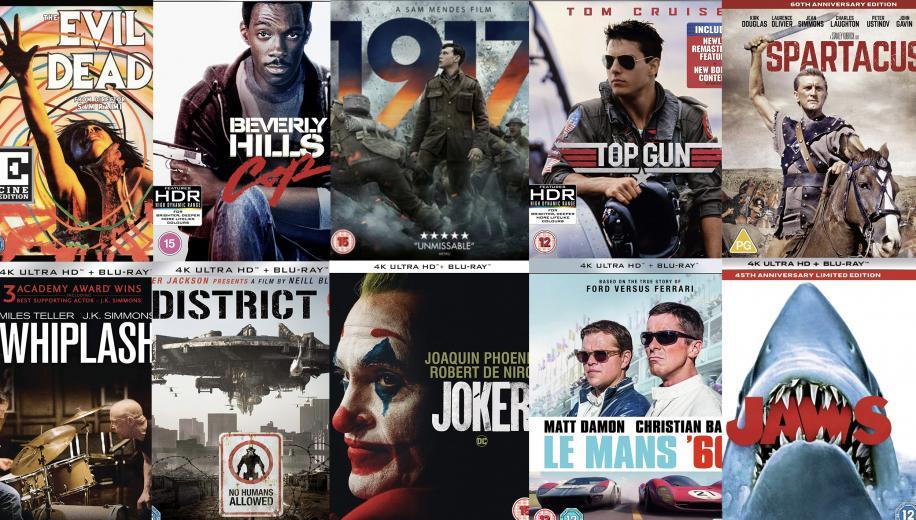 Top Ten 4K Blu-ray Discs of 2020