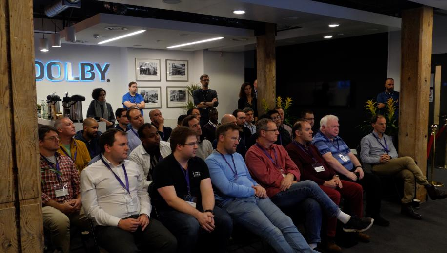 VIDEO: Philips demo Dolby Vision and P5 Picture Processing on their OLED TVs at Dolby HQ
