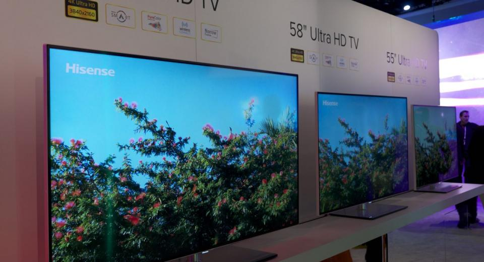 CES 2014 - First look at the latest Chinese Ultra HD and OLED TVs
