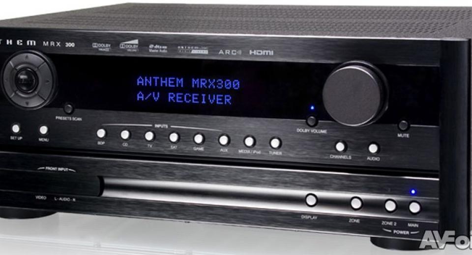 Anthem MRX 300 AV Receiver Review