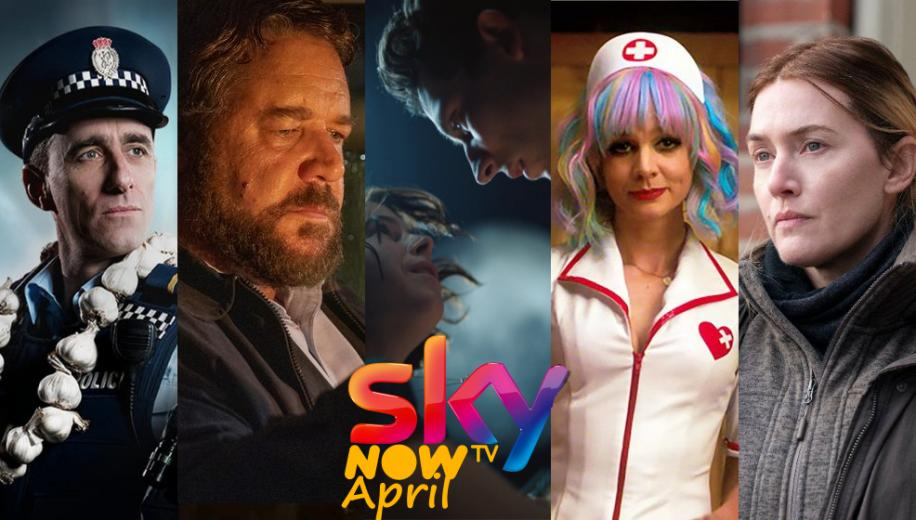 What's new on Sky and NOW TV UK for April 2021