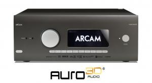 Arcam adds Auro-3D audio technology to latest AVRs