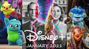What's new on Disney+ UK for January 2021