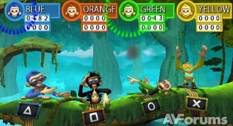 Jungle Party PSP Review