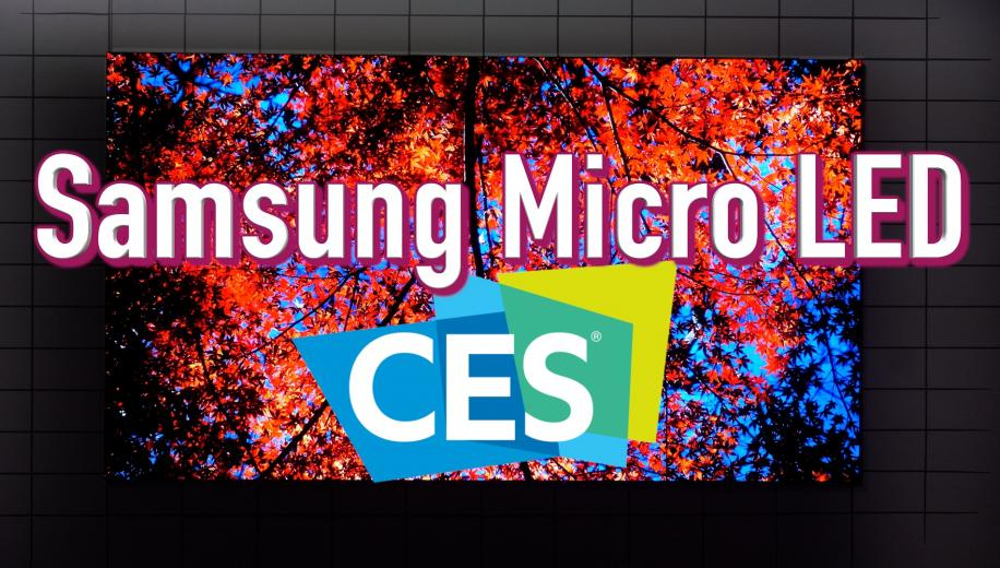 VIDEO: Samsung Micro LED TV range unveiled at CES 2020